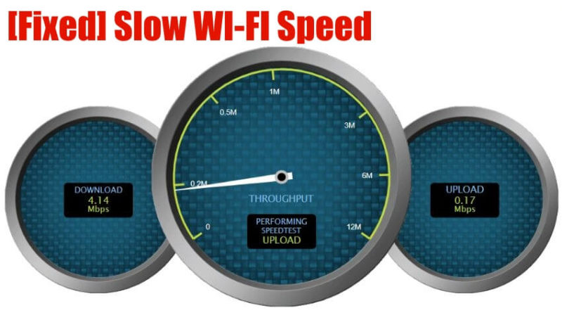 Fixed-Slow-WIFI-speed