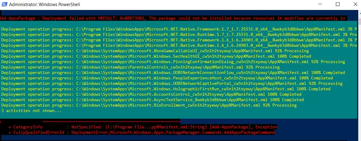 Fixing-in-powershell