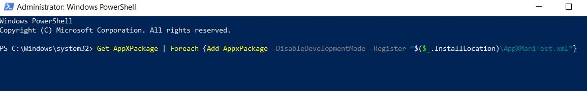 Powershell-command