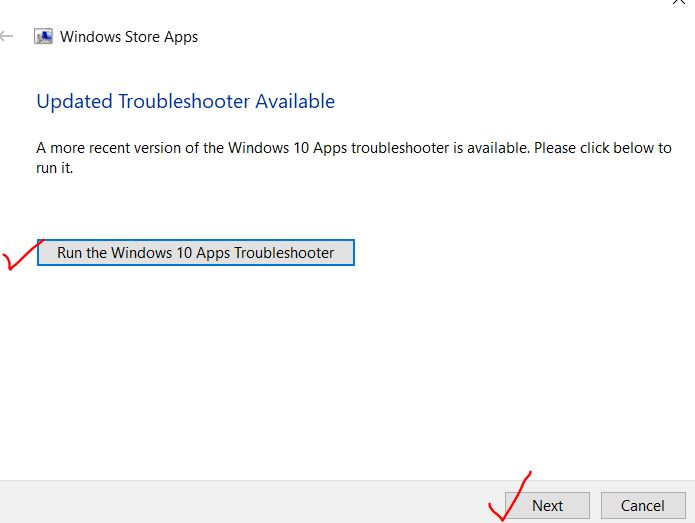 Windows-10-app-troubleshooter