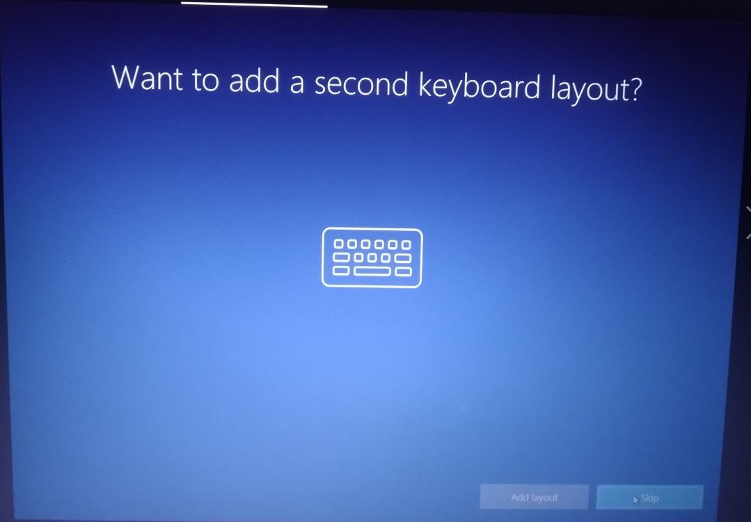 additional keyboard layout