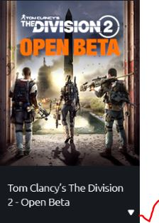 The division 2 uplay arrow