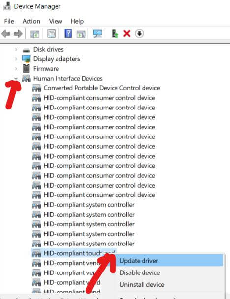 Fix Erratic/Jumping Mouse Cursor Issue on Dell, HP, Lenovo, Asus Win 10