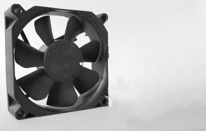 reseat PC fan