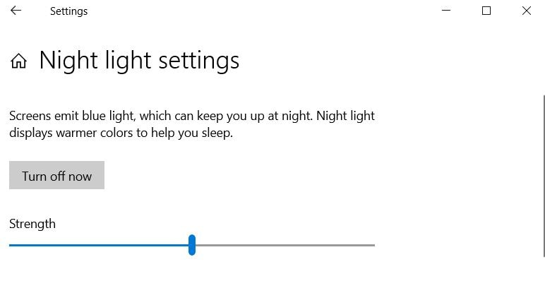 Fix Windows 10 Night Light Not Working After 1903 Update